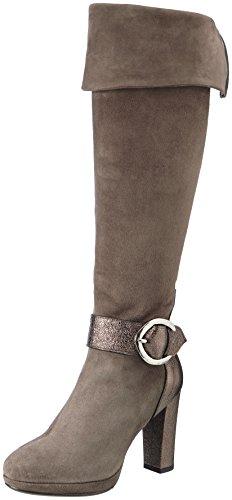 Franco Russo Napoli Damen 7580 Stiefel, Beige (Taupe), 36 EU