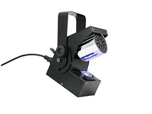 Lichteffekt Walzen Scanner 230V / 22W, mehrfarbig, Standalone/DMX Steuerung - bunter Partyeffekt/Partybeleuchtung - showking