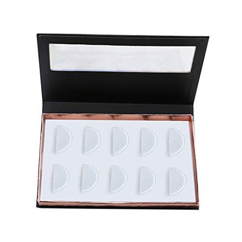 Damen Wimpern Magnet ZYUEER Falsche Wimpern 5 Paar Wimpernaufbewahrungsbox