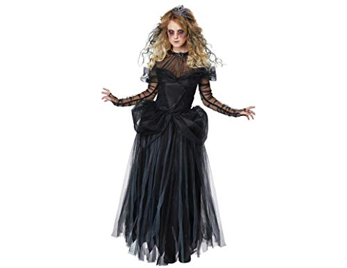 Kostüm Gespenstische - Unbekannt Halloween-Kostüme Für Frauen, Zombie-Braut, Frauen Gespenstische Vampire Teufel Outfit-Kostüm Für Halloween Cosplay-Party Dress Up Party,L