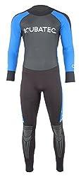 Scubatec 3/2mm Surfanzug Big Wave, schwarz-blau, 54 (XL)
