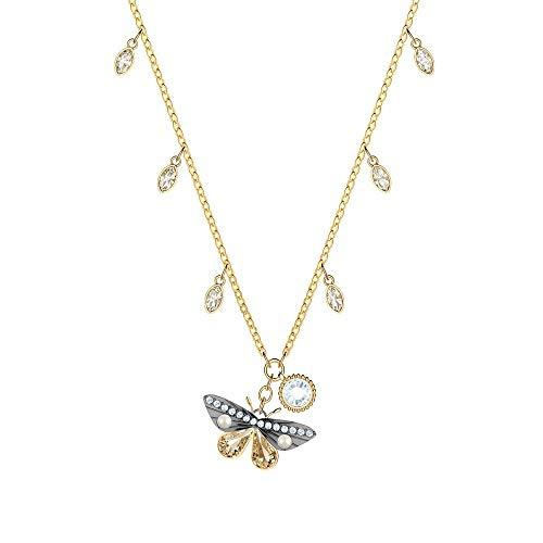 Swarovski collana con ciondolo donna placcato_oro - 5416786