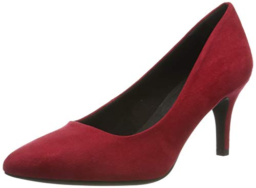 Marco Tozzi 2-2-22452-33, Zapatos de Tacón para Mujer, Rojo Red 500, 37 EU