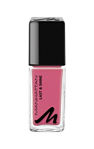Manhattan Last & Shine Nagellack, Nr.120 Love Peach, 1er Pack (1 X 10 ml)