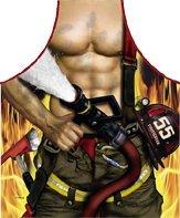 Tablier de cuisine sexy Pompier pour homme