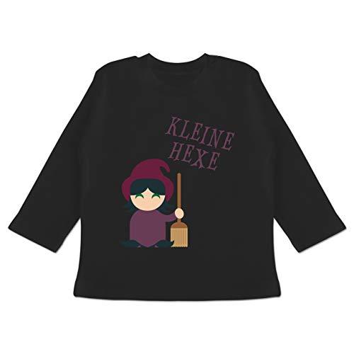 Kostüm Monate Hexe 24 18 - Anlässe Baby - Kleine Hexe süß - 18-24 Monate - Schwarz - BZ11 - Baby T-Shirt Langarm