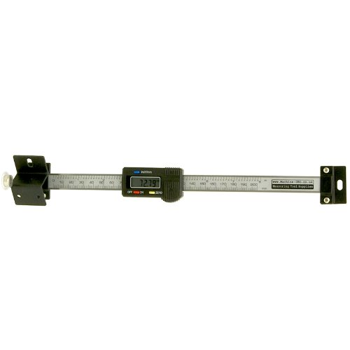 Horizontal Linear-Digital-Skala - 200 mm/8 Zoll