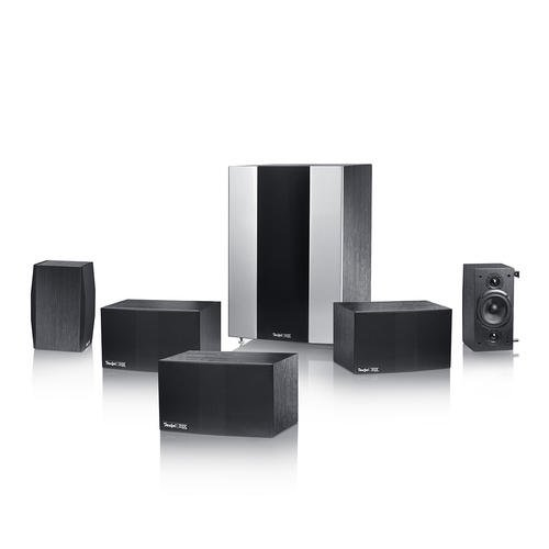 "Teufel System 5 THX Select Cinema 5.1\"" 5.1Kanäle 1050W Lautsprecherset - Lautsprechersets (5.1 Kanäle, 1050 W, Heimkino, Verstärker, Eingebaut, 540 W)"