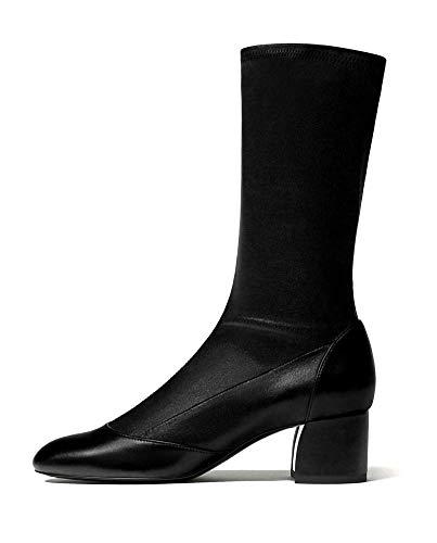 Massimo Dutti Women's Black Nappa