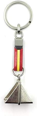 FJR-ArtPiel - Llavero bandera de España con estribo español - Alta Calidad