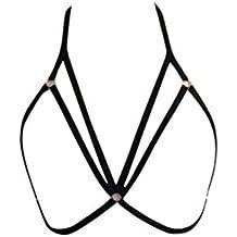 Amlaiworld Donna Cintura elastica reggiseno Strappy (Vita Cintura Di Panty)