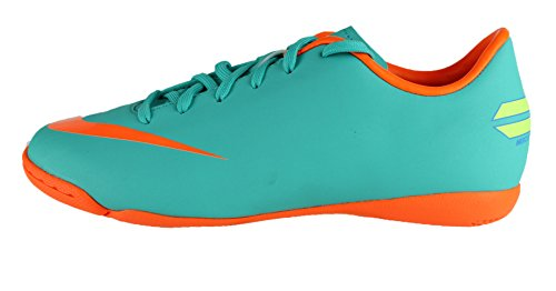 Nike Mercurial Victory III IC Fu脽ballschuhe Kinder aqua/orange