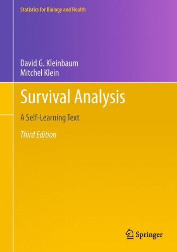 Survival Analysis: A Self-Learning Text, Third Edition (Statistics for Biology and Health) por David G. Kleinbaum