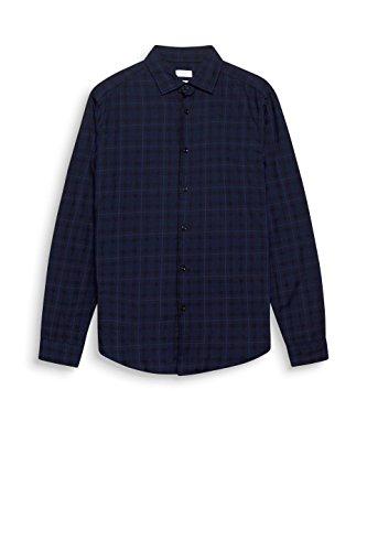 ESPRIT Herren Freizeithemd Blau (Navy 400)