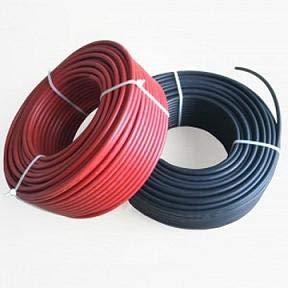 wccsolar Cable Solar 6mm² Enerflex Solar Rojo y Negro Total 20Metros