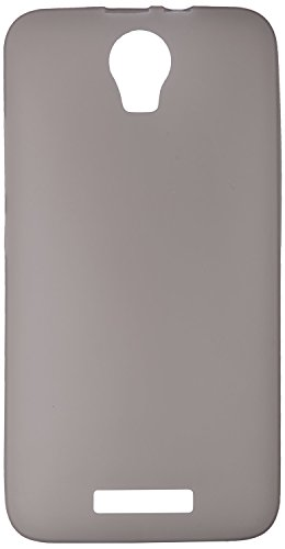 GoRogue Frosted Glowing Ultra Slim Soft Flexible TPU Back Case Cover For Micromax Canvas Juice 2 AQ5001 (Smoke)  available at amazon for Rs.149