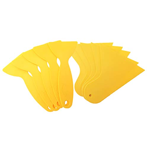 Fenteer Folien Rakel Schaber Tönungsfolie Montage Werkzeug Carwrapping, aus hochwertigem Kunststoff -