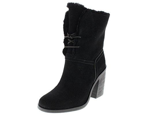 UGG Damenschuhe - gefütterte Stiefelette JERENE - black, Größe:37 EU (Schwarz Ugg Stiefel Frauen Größe 6)