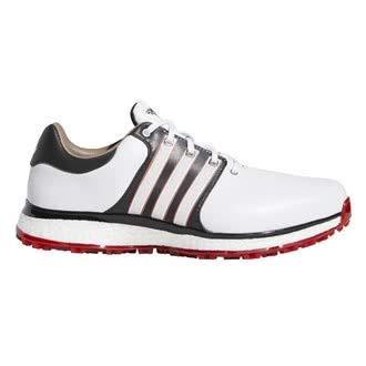 adidas Men's Tour360 Xt-sl(Wide) Golf Shoes, White (Blanco/Negro/Rojo F34992), 10 UK
