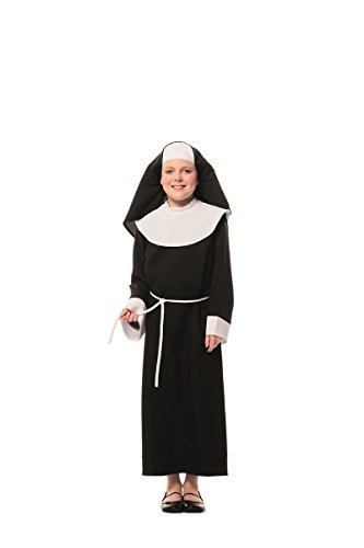 Disfraz de monja (niña)