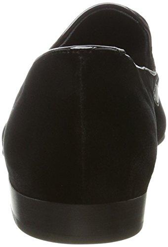 Högl 4-10 1516 0100, Mocassins Femme Noir (Schwarz)