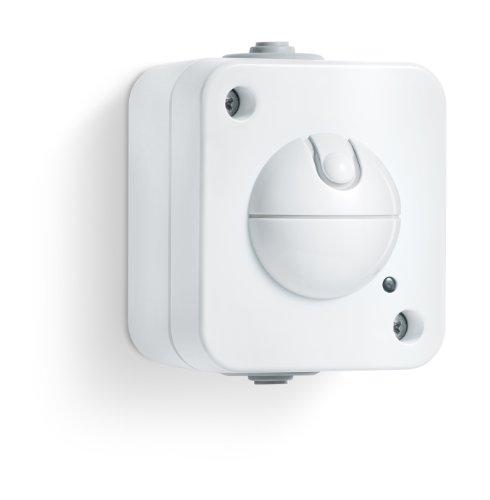 Steinel Einbau-Sensorschalter HF 360 AP (Aufputz), 360° Bewegungsmelder, 8 m Reichweite, verzögerungsfreies Schalten