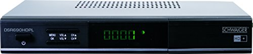 Schwaiger DSR690HDPL Full-HD Satelliten Receiver inkl. HD+ Karte für 6 Monate (PVR ready)