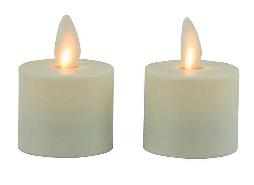 Boston Warehouse 45353 Kerze, weiß, Stück: 1 Boston-timer