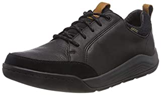 Clarks Ashcombebaygtx, Zapatos de Cordones Derby para Hombre, Negro (Black Leather), 41.5 EU (B07B94NCDS) | Amazon price tracker / tracking, Amazon price history charts, Amazon price watches, Amazon price drop alerts