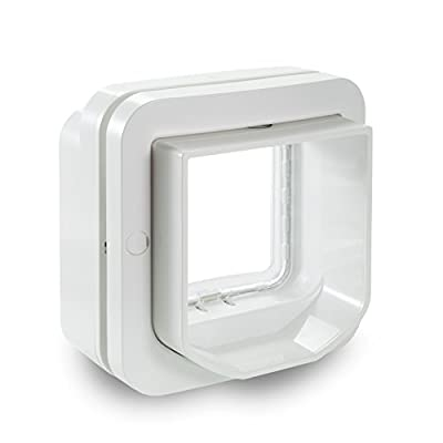 SureFlap Dual Scan Microchip Cat Flap, White from Sure petcare