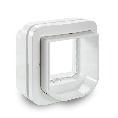SureFlap DualScan Mikrochip Katzenklappe, weiß -
