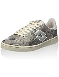 Lotto - Autograph Suede Metallic Crackle Silver - Sneakers Women