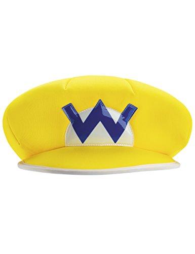Wario Mütze Nintendo Lizenzartikel gelb-weiss-blau