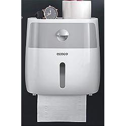 Joeesun Salle de bains papier toilette boîte de bain gratuit poinçonnage tenture étanche porte-serviettes en papier porte-serviettes papier toilette rouleau de papier de papier tube grand rectan