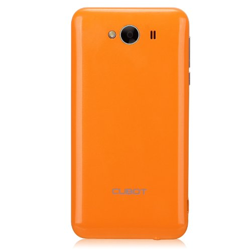 Cubot Original Akkudeckel Rückdeckel Orange Schale Shell Rückseite - Backcover GT72 Smartphone Oberschale Back-Cover