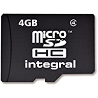 Integral Carte mémoire Micro SDHC CL4 4 Go