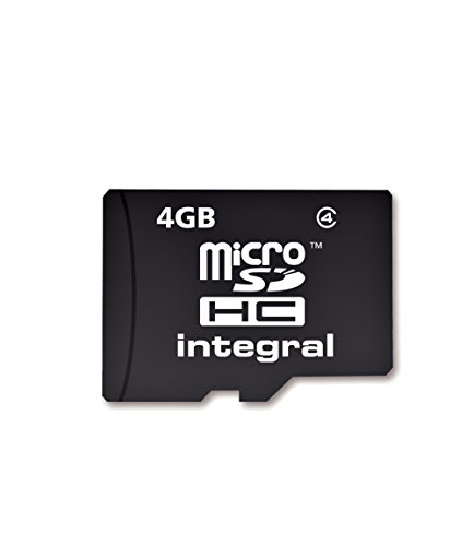 Integral Micro Secure Digital Card 4GB with SD Adaptor High Capacity lowest price