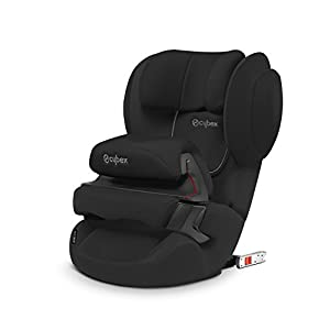 Cybex Silver Juno 2-Fix Child's Car Seat, for Cars with ISOFIX, Car Seat Group 1 (9-18 kg), Pure Black   14