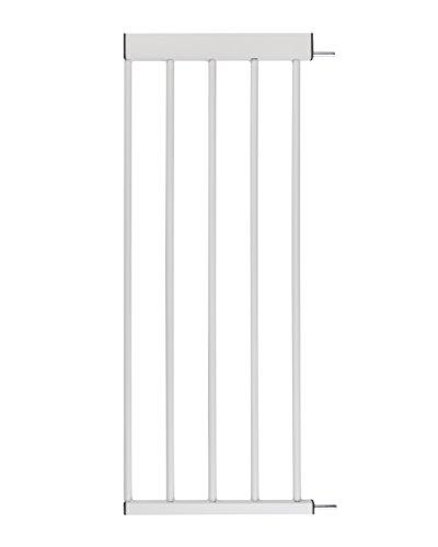 ♥ BOMI Zubehoer für Türsicherungen Baby | Größen: 10-70 cm | Erweiterungen für Tiergitter, Hundegitter, Babyschutzgitter, Türschutzgitter, Türgitter der Marke BOMI | 30 cm Verbreiterung aus Metall -