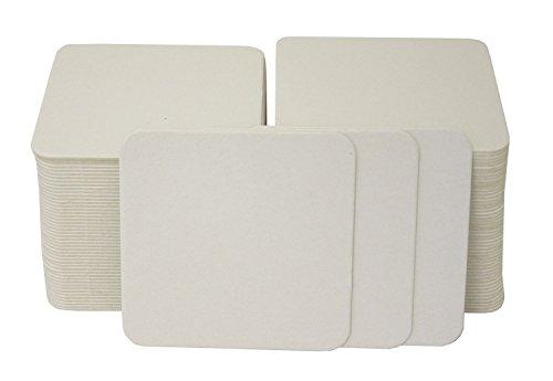 (folia 2326 - Bierdeckel, 9,3 x 9,3 cm, 100 stück)