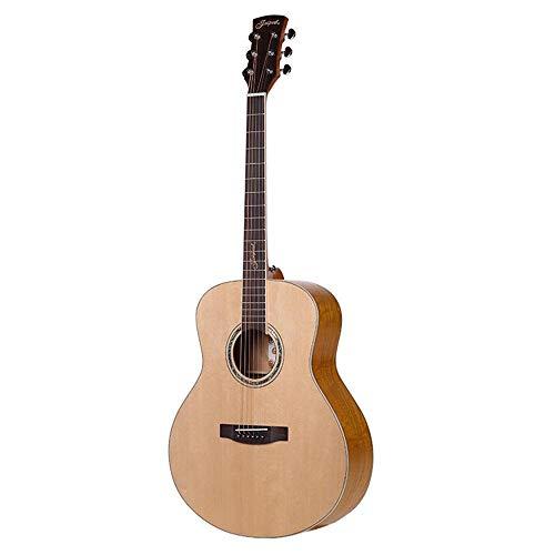 North King Gitarre Akustik 53 Zoll Fichte Furnier Folk Guitar Gitarre Erwachsene Musikinstrumente