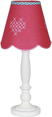 Lief LF12004 - Lámpara de sobremesa infantil/juvenil, color rosa