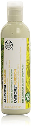 Body-shampoo (The Body Shop Rainforest Moisture Conditioner unisex, Feuchtigkeits-Pflegespülung 250 ml, 1er Pack (1 x 250 ml))