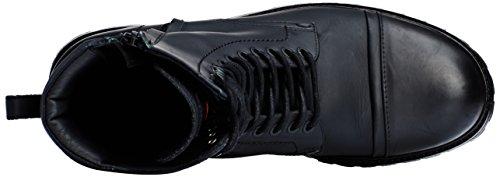 Boss Orange Tonkin_Boot_Lt 10193544 01, Bottes Rangers Homme Noir (Black 001)