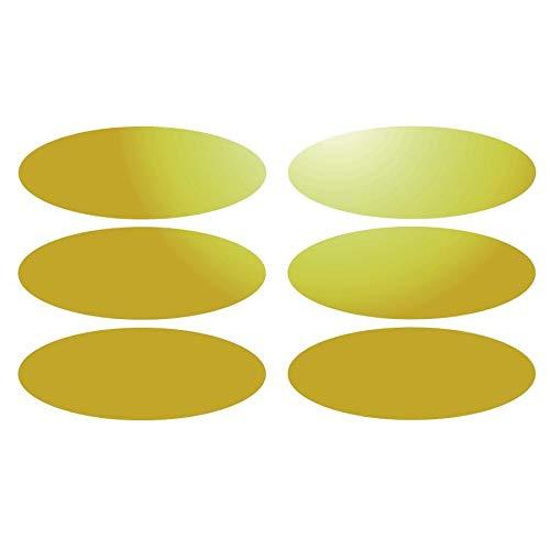 Command Bilder Montagestreifen - 6 Einsätze für Signalvorrichtungen für Helm 8 x 3 cm, gelb