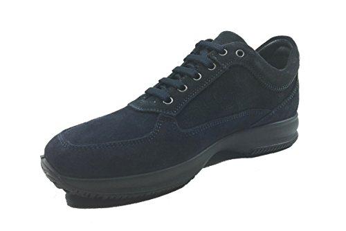 Imac , Chaussures de ville à lacets pour homme Bleu