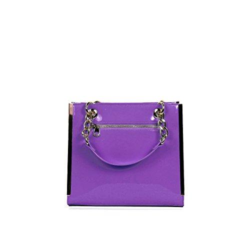 Anna Smith, Borsa a mano donna Fucsia Fushia Purple