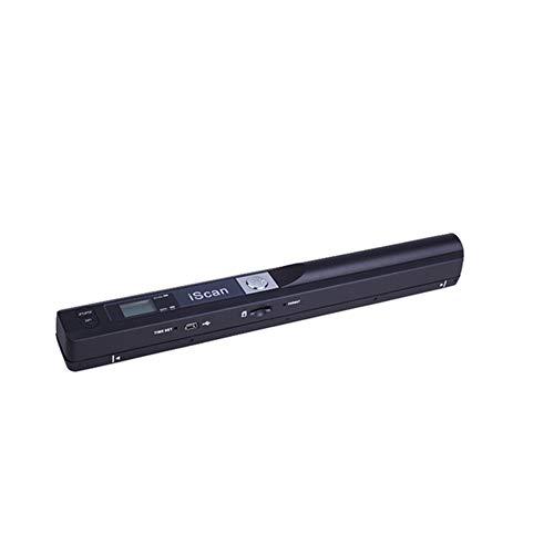 Tragbarer Scanner A4-Dokumentenscanner Handheld 900 DPI LCD-Display Auswahl des JPG- / PDF-Formats, Micro SD-Karten-Handscanner für Unternehmen, Foto, Bild, Quittungen, Bücher,D -