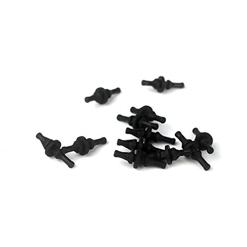 Ytian 12 Pcs Silicone Rubber Cooling Fan Mounts Anti-Vibration Rubber Mount PC - Anti-vibration Mounts