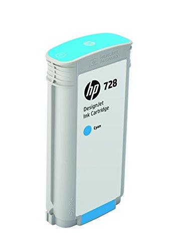 HP 728 F9J67A Cartouche d'encre d'origine Cyan